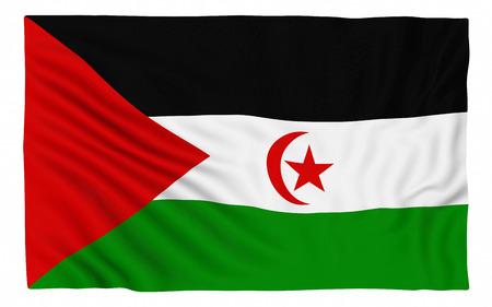 sahrawi arab democratic republic: Flag of the Sahrawi Arab Democratic Republic