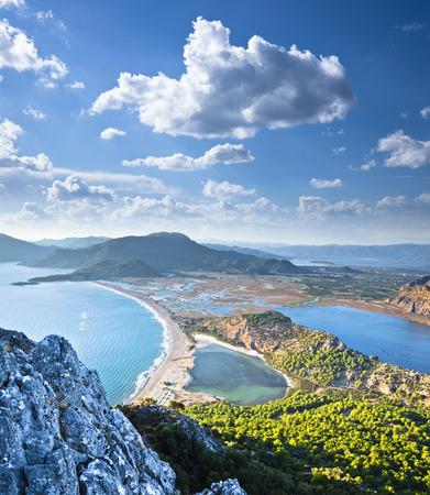 Iztuzu Beach. Lieu: Dalyan-Turquie. Banque d'images - 42306164