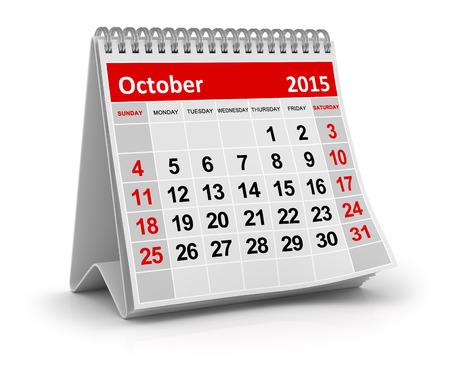 Octobre 2015 Banque d'images - 42319682