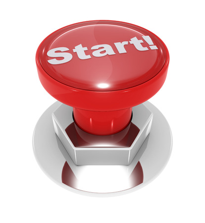 start button: Start button. This is a computer generated and 3d rendered picture.