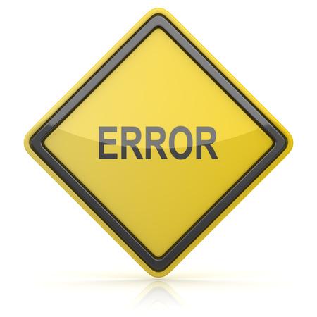 error: Road Sign - Error