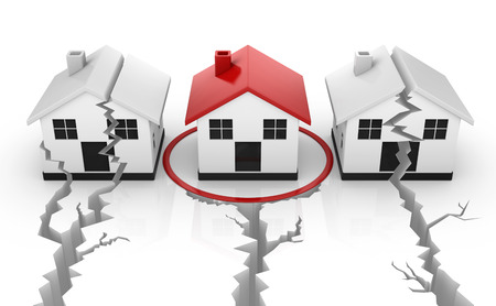 safe house: Safe house , This is a computer generated and 3d rendered picture. Stock Photo
