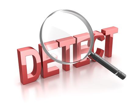 detect: Detect Stock Photo