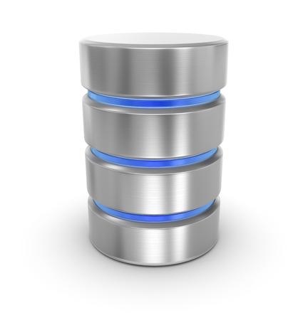 Datenbank, Dies ist ein Computer generierte und 3D-gerenderten Bild. Standard-Bild - 42926321