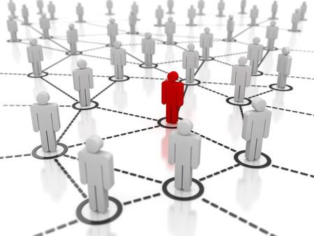 social gathering: Different Man