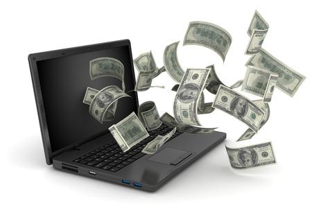 Faire de l'argent Banque d'images - 44206873