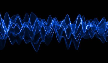 vague: Blue Wave Banque d'images