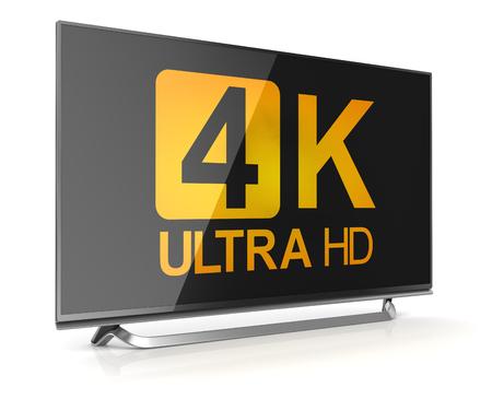 oled: 4K ultra hd tv  Stock Photo