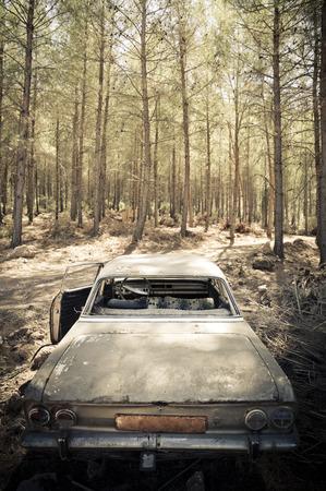 abandoned car: Abandoned Car Photography