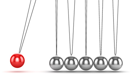 newtons cradle: Balancing Balls Newtons Cradle , This is a computer generated and 3d rendered picture.