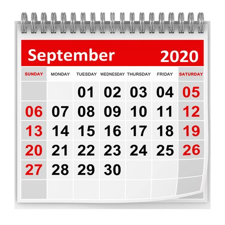 September 2020 , This is a 3d rendered computer generated image. Isolated on white.
