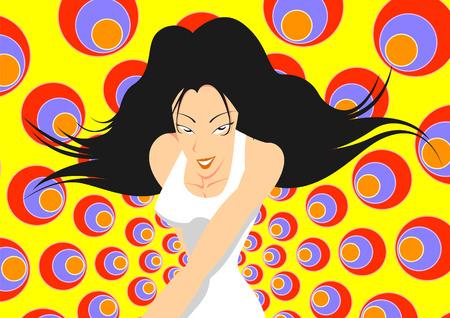 Colourful animation Illusztráció