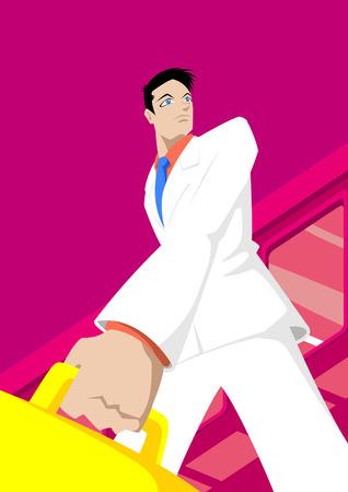 formalwear: Dibujos animados con carrera