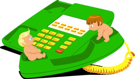 Baby cartoon Stock Vector - 4496957