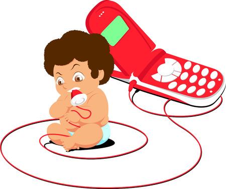 creation kit: Baby cartoon Illustration