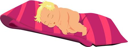 Baby cartoon Illusztráció