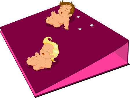 Baby cartoon Stock Vector - 4496953