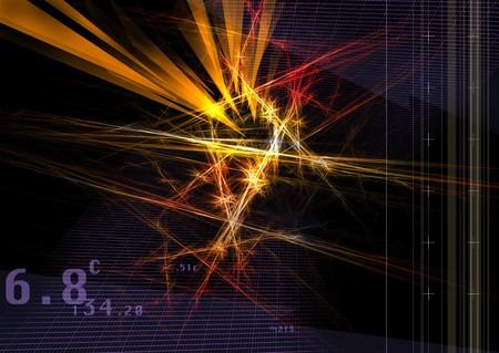 illusionary: Digital art Stock Photo