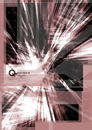 vivacity: Digital art Stock Photo