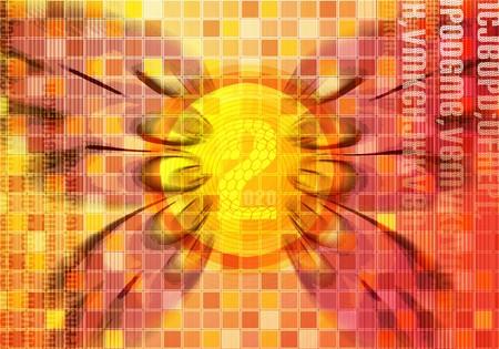 zest: Digital art Stock Photo