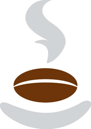 This logo design illustrates a coffee bean. It is perfect for businesses related to restaurant, food & drink and retail. Exclusive Logo Collection - 17142208