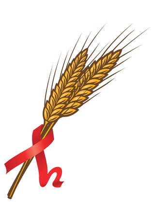 This logo design illustrates wheat. It is perfect for businesses related to agriculture, food & drink and restaurant. Exclusive Logo Collection - 17268702