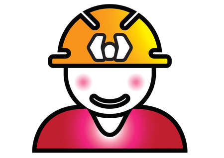 This logo design illustrates a contractor. It is perfect for businesses related to industrial, construction & tools and cleaning & maintenance. Exclusive Logo Collection - 17268715