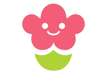 An adorable flower logo for businesses related to floral and children & childcare. Exclusive Logo Collection - 18776891