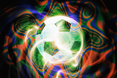 Soccer ball with special effect