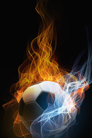 special effect: Soccer ball with special effect