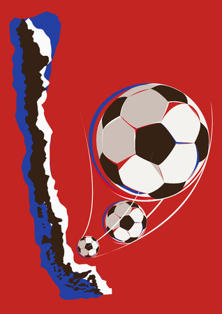 チリのサッカー チームの地理学