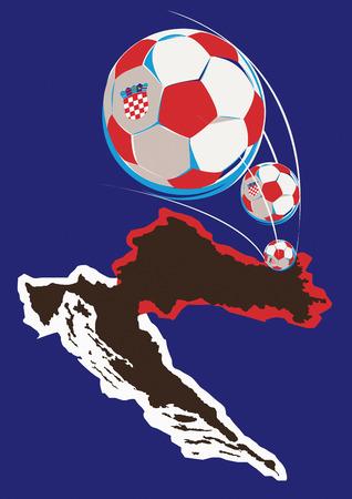 Geography of Croatia soccer team