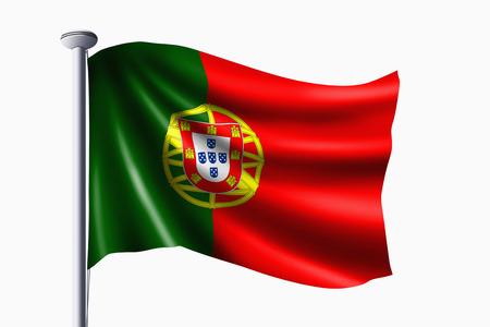 drapeau portugal: Portugal drapeau Banque d'images