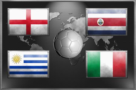 Soccer team for Group D