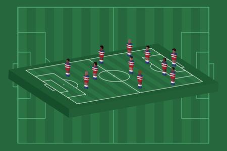 Costa Rica team formation