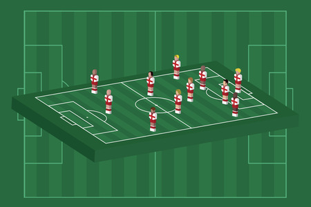 England team formation