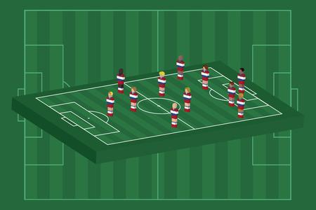 Netherlands team formation Vector
