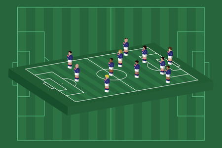Australia team formation
