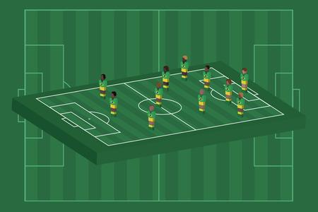 Brazil team formation