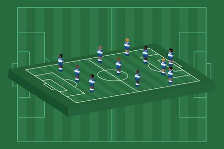 Honduras team formation Illusztráció