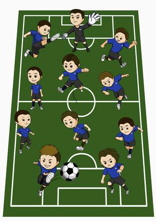 Uruguay team formation