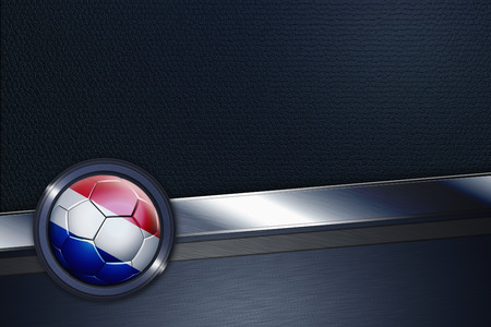 Sports interface with Netherlands soccer ball photo