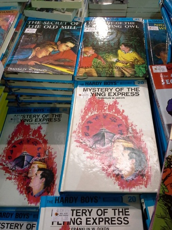 hardy: Hardy boys series at book sale