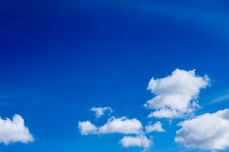 nebulosity: Blue sky with clouds background
