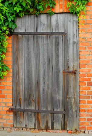Old door, secret, background, agriculture, concept Stock Photo - 1010718