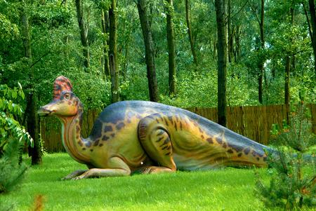 comb out: Corythosaurus casuarius, Corythosaur, dinosaurs series, jurassic park, education, concept