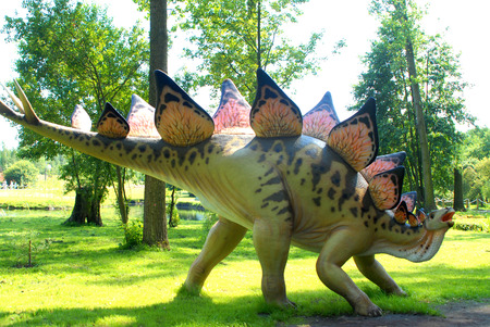 stegosaurus: Stegosaurus armatus, Stegosaur, serie dinosaurios, Jurassic Park, la educaci�n, concepto