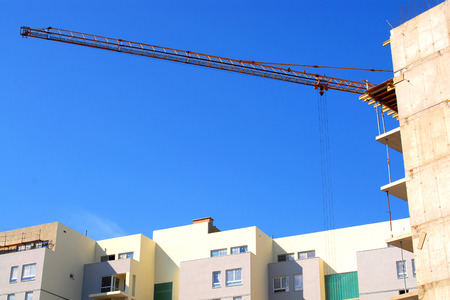 New apartments, construction industry, real estate, urban development, concept Stock Photo - 1591685