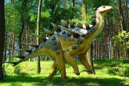 Kentrosaurus aethiopicus, Kentrosaur, dinosaurs series, jurassic park, education, concept Stock Photo - 1975064