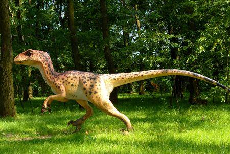 Deinonychus antirrhopus, Deinonych, dinosaurs series, jurassic park, education, concept